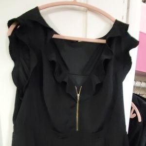 Torrid black dress with pockets